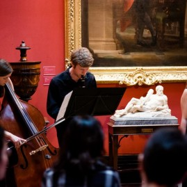 The Hermes Experiment at the Fitzwilliam Museum (May 2014) - photo by Tom Porteous