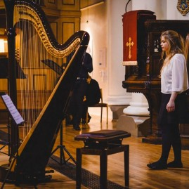 The Hermes Experiment - 'Inspired by Bach' at St John's Notting Hill (September 2014) - photo by Eliska Haskovcova