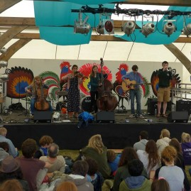 The Coach House Company at Wilderness Festival 2014 - photo by Sophia Linehan (EFDSS)