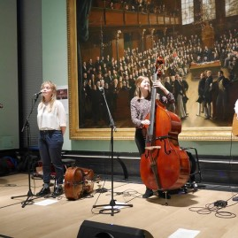 The Coach House Company at the National Portrait Gallery, October 15 (photo credit: Mike Watts)