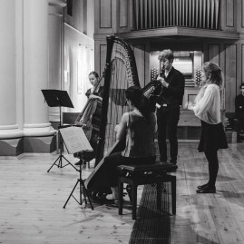 TThe Hermes Experiment - 'Inspired by Bach' at St John's Notting Hill (September 2014) - photo by Eliska Haskovcova