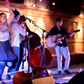 The Coach House Company's EP Launch at Cecil Sharp House (April 2014) - photo by Emma Werner