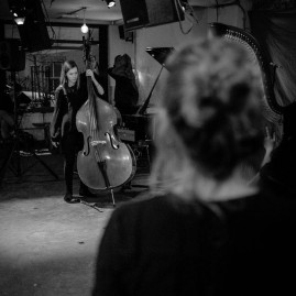 The Hermes Experiment at Café OTO (March 2015) - photo by Nick Rutter