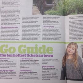 Evening Standard Feature